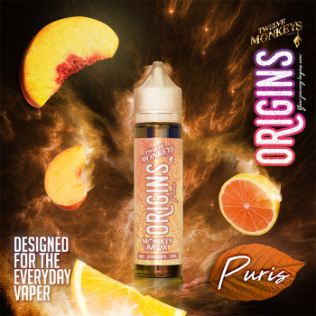 Puris (50ml) Plus e Liquid by Twelve Monkeys Origins MHD 09/20