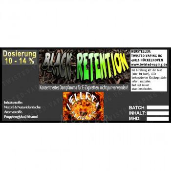 Twisted Vaping Hellride Aroma 10ml Black Retention