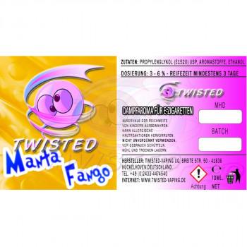 Twisted Vaping Aroma 10ml Manta Fango