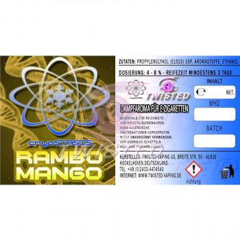 Twisted Vaping Cryostasis Aroma Rambo Mango