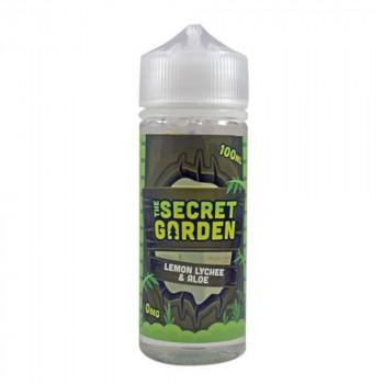 Lemon Lychee & Aloe 100ml Shortfill Liquid by The Secret Garden