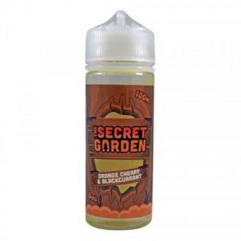 Orange Cherry & Blackcurrant 100ml Shortfill Liquid by The Secret Garden