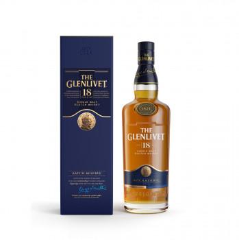 The Glenlivet 18 Jahre Single Malt Scotch Whisky 40% vol. 700ml