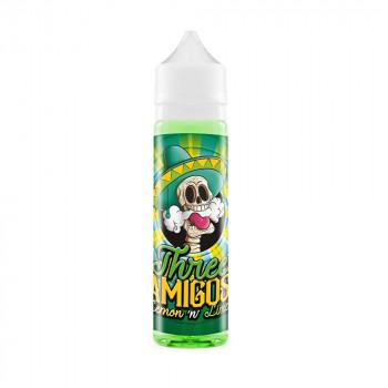 Lemon'n Lime 50ml Longfill Liquid by Three Amigos