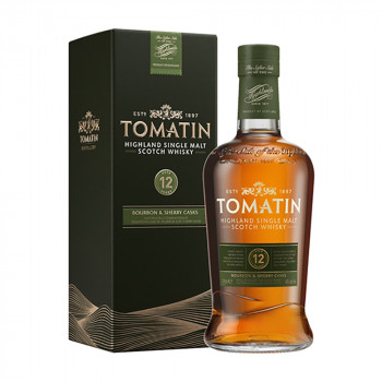 Tomatin Single Malt Scotch Whisky 12 Jahre 43% Vol. 700ml