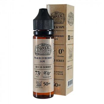 PB & Blueberry Jam 50ml Shortfill Liquid by Tonix Element