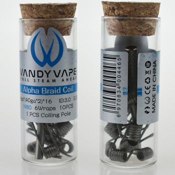 VandyVape Alpha Braid Coil (10pcs) Flasche