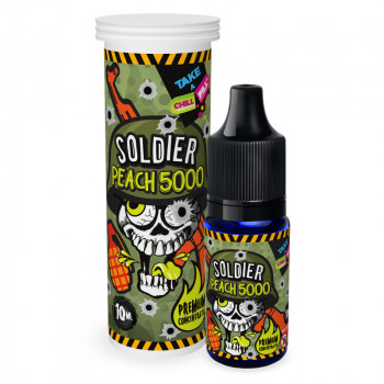 Soldier - Peach 5000 (10ml) Aroma by Vape Chill Pill