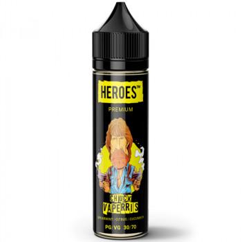 Chuck Vaperris Heroes Serie (50ml) Plus e Liquid by ProVape Liquids MHD Ware