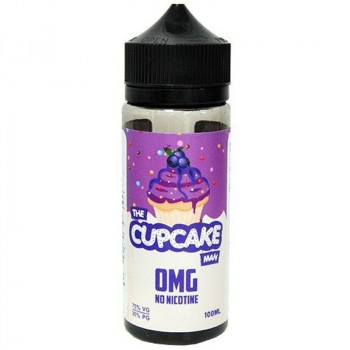 The Cupcake Man Blueberry (100ml) Plus e Liquid by Vaper Treats MHD Ware