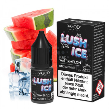 Lush Ice Saltnic 20mg 10ml NicSalt Liquid by VGOD