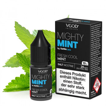 Mighty Mint Saltnic 20mg 10ml NicSalt Liquid by VGOD