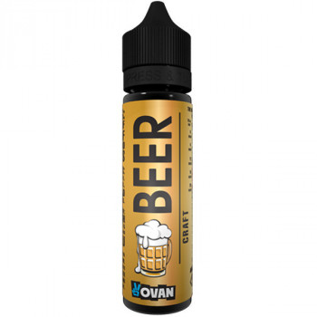 Beer (50ml) Plus e Liquid by VoVan MHD Ware