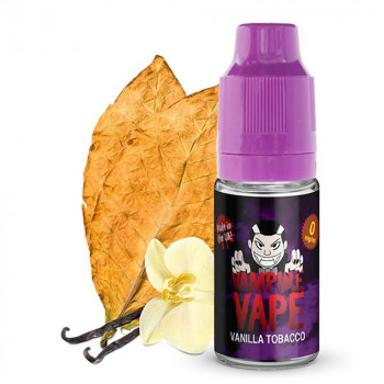 Vanilla Tobacco 10ml Liquid by Vampire Vape