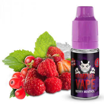 Berry Menthol 10ml Liquid by Vampire Vape