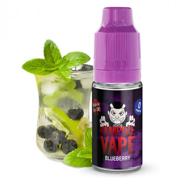Blueberry 10ml Liquid by Vampire Vape