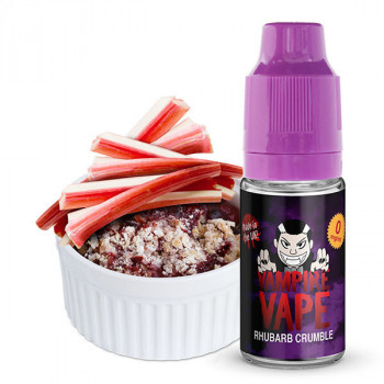 Rhubarb Crumble 10ml Liquid by Vampire Vape