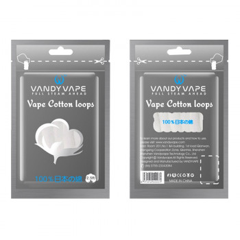 VandyVape Cotton Loops Watte