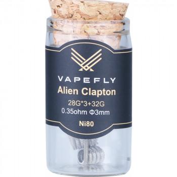 Vapefly NI80 Alien Clapton Coil (6pcs) Flasche