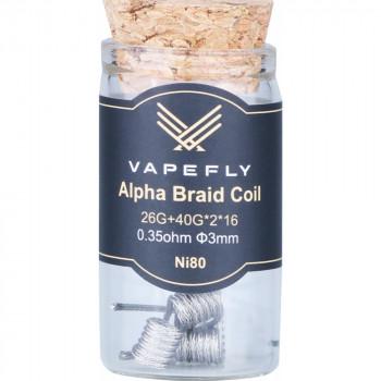 Vapefly NI80 Alpha Braid Coil (6pcs) Flasche