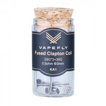 Vapefly KA1 Fused Clapton Coil (6pcs) Flasche