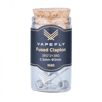 Vapefly NI80 Fused Clapton Coil (6pcs) Flasche