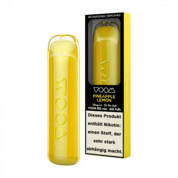 Voom Iris Mini E-Zigarette 20mg 600 Züge 320mAh NicSalt Pineapple Lemon