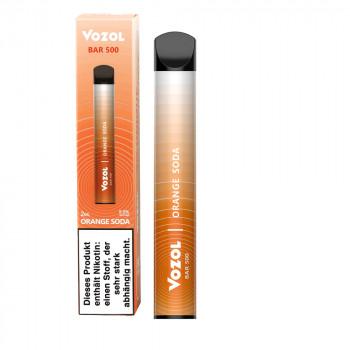Vozol Bar 500 E-Zigarette 500 Züge 400mAh NicSalt Orange Soda