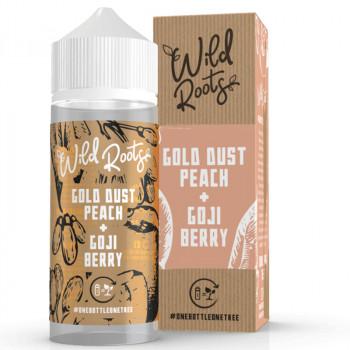 Gold Dust Peach 100ml Shortfill Liquid by Wild Roots