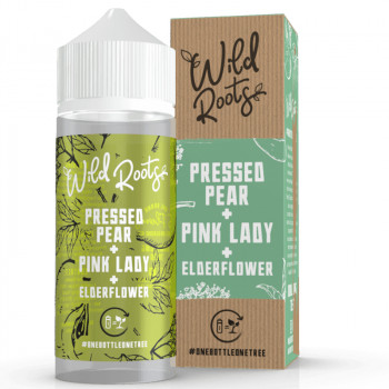 Pressed Pear 100ml Shortfill Liquid by Wild Roots