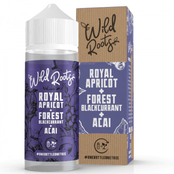 Royal Apricot 100ml Shortfill Liquid by Wild Roots
