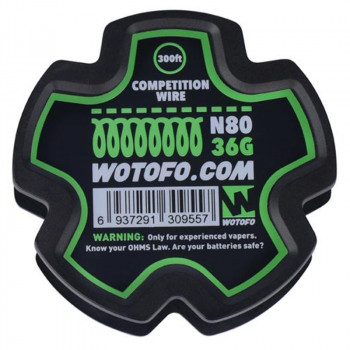 Wotofo Competition Wire Ni80 36G 300ft