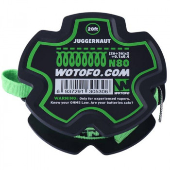 Wotofo Juggernaut Wire 20 feet/spool Wickeldraht