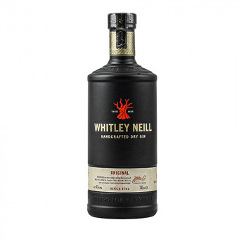 Whitley Neill Original Handcrafted Dry Gin 43% Vol. 700ml