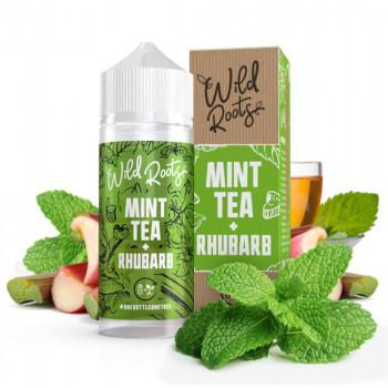 Mint Tea with Rhubarb 100ml Shortfill Liquid by Wild Roots