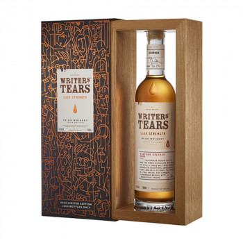 Writers Tears Cask Strength 2020 Blended Whisky 54,5% Vol. 700ml
