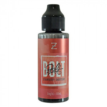 Bolt Strawberry Shortcake 100ml Shortfill Liquid by Zeus Juice