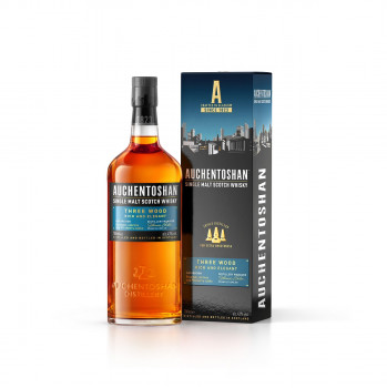 Auchentoshan Three Wood Single Malt Scotch Whisky 43% Vol. 700ml