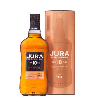Jura 10 Years Old Single Malt Scotch Whisky 40% Vol. 700ml