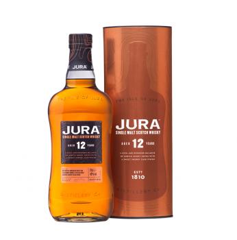 Jura 12 Years Old Single Malt Scotch Whisky 40% Vol. 700ml