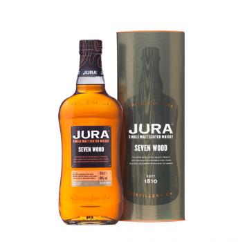 JURA Seven Wood Single Malt Scotch Whisky 42% Vol. 700ml