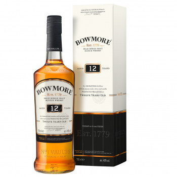 Bowmore 12 Jahre Single Malt Scotch Whisky 40%Vol. 700ml