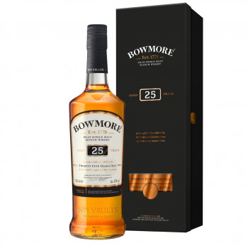Bowmore 25 Jahre Single Malt Scotch Whisky 43%Vol. 700ml