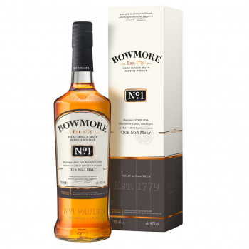 Bowmore No. 1 Single Malt Scotch Whisky 40%Vol. 700ml