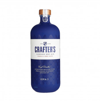Crafters London Dry Gin 43% Vol. 700ml