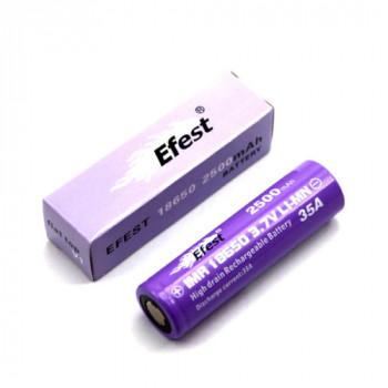 Efest IMR 18650 2500mAh/ 3,7V/ 20A / Flat Top