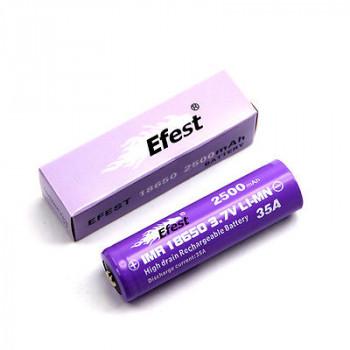 Efest Purple IMR18500 - 1000mAh15A (Button Top) ungeschützt