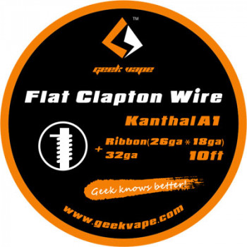 GeekVape Flat Clapton KA1 26GA*18GA + 32GA 3m  (3,30€/1m)