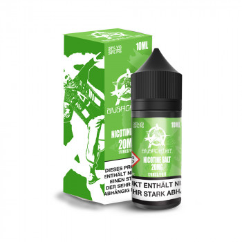 Green 10ml 20mg Nic Salt Liquid by Anarchist