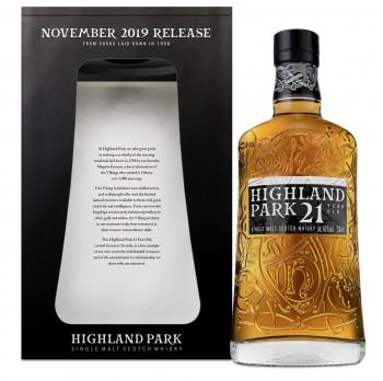 Highland Park 21 Jahre Single Malt Scotch Whisky 46% Vol. 700ml